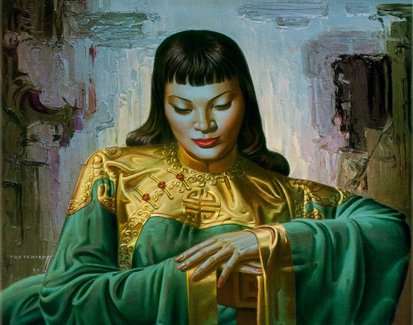 Tretchikoff Painting Ebay Uk